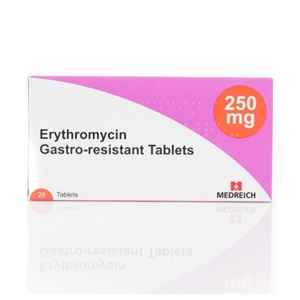 Erythromycin 250mg Tablets -28-